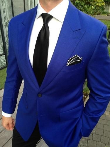 A Royal Blue Color Suit On Rent For Rent In Jaipur