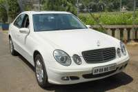 Mercedes Benze E Class on rent in Hyderabad, India