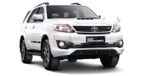 Fortuner on rent in Hyderabad, India