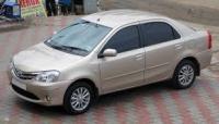 Etios Toyota on rent in Hyderabad, India