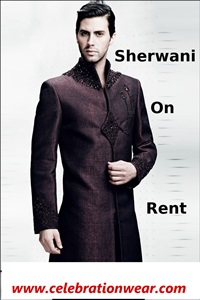 Get Designer and Wedding Sherwani on Rent for men in Mumbai on rent in Mumbai, India
