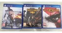 Playstation 4 3 Games on Hire in Ghaziabad on rent in Ghaziabad, India