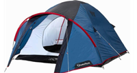 Quechua 3 Man Tent in Delhi on rent in Delhi, India
