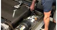 Treadmill Belt Deck Repair parts on rent in Delhi, India