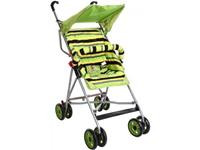 Sunbaby Trendy Baby Buggy(Green) on rent in Other-City, India