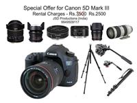 canon 5d mark iii Rent Hyderabad Hyderabad on rent in Hyderabad, India