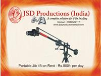 Camera Jib 4ft on Rent in Hyderabad - Equipment on Rental Hyderabad Hyderabad on rent in Hyderabad, India