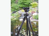 Manfrotto Tripod and Fluid Head Hyderabad on rent in Hyderabad, India