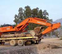 Hyundai Excavator, Tata Excavator, Rock Breaker on rent in Pauri, India