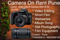 DSLR Camera Rent Pune | camera on Hire Pune | on rent in Pune, India