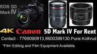 5D mark iv 4 Camera Pune Film Equipment rental Pun on rent in Pune, India