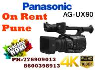 Video camera on rent pune panasonic ux90 4K on rent in Pune, India
