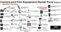 Film Equipment Rental Pune on rent in Pune, India