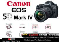 5d mark iv 4 camera on rent pune on rent in Pune, India