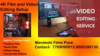 video editing service pune video editor pune on rent in Pune, India