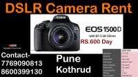 Canon dslr camera on rent pune on rent in Pune, India