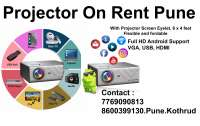 Digital Full HD Projector on Rent Pune Contact  77 on rent in Pune, India
